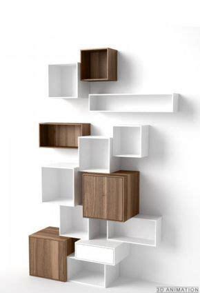 scaffali sospesi scaffale modulare in legno di noce pregiato scaffali