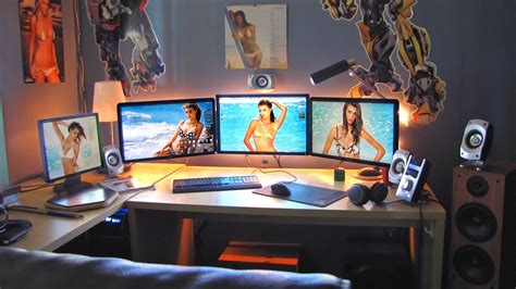 Gaming Computer Desk The Ultimate Workstation Pc Project Youtube