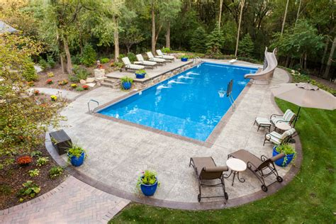 pics of backyard pools four options to create a one of a kind decorative concrete
