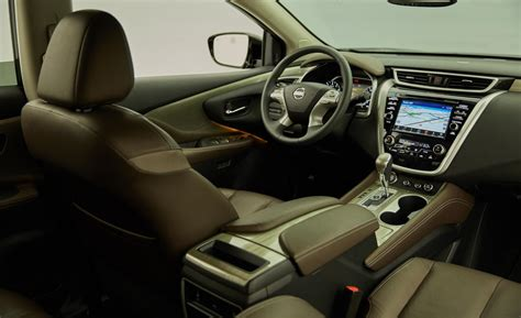 nissan murano interior car and driver