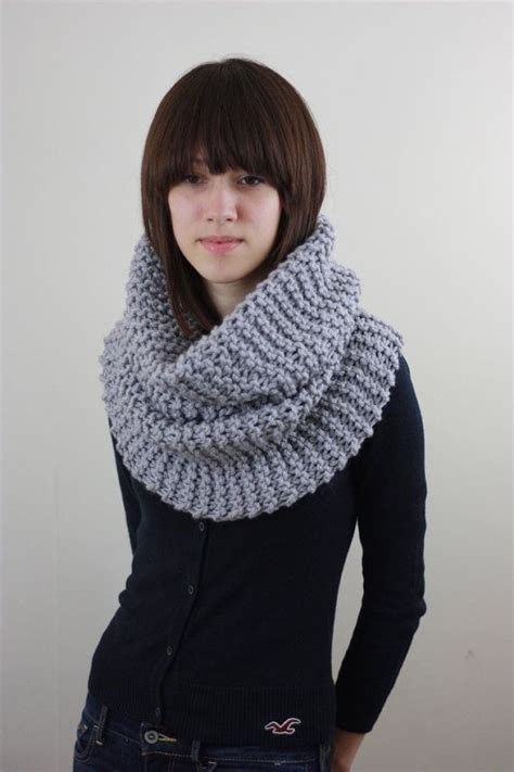 14 Best Images About Knitted Cowl On Circle