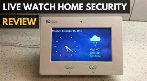 livewatch home security system review