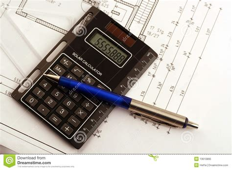 dream home calculator find out the cost to build your dream home calculate royalty free stock photo image 13610895