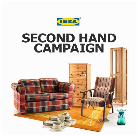 second hand ikea sofa ikea second hand caign on behance