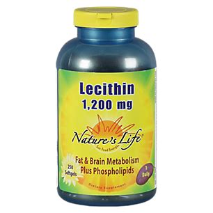 Sale Lecithin Softgel Wootekh Member product image for lecithin 1200 mg 250 softgels