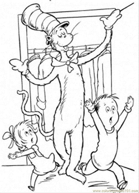the hat coloring page dr seuss cat in the hat coloring pages coloring home