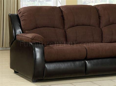 grande sofa cm6500 in microfiber leatherette w sleeper