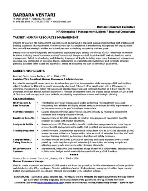 cover letter for f b manager sle resume for an hr manager page 1 resume