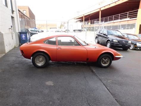 opel gt engine 1973 opel gt with running engine for restoration classic