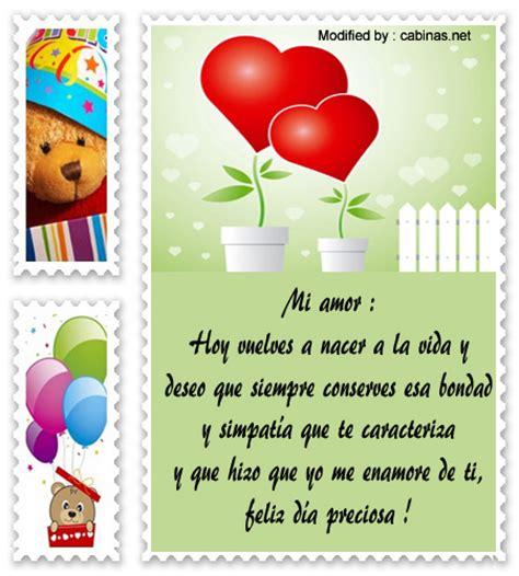 felicitacin de cumpleaos para mi novia tarjetas de felicitacin bonitos mensajes de cumplea 241 os a mi novia textos de