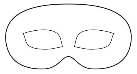 printable robber mask template bandit mask and eyes clipart