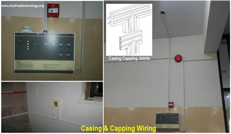 casing capping types of wiring systems and methods of electrical wiring