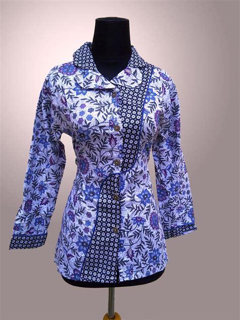 gambar model baju batik modern 32 koleksi baju batik wanita modern terbaru 2018 model