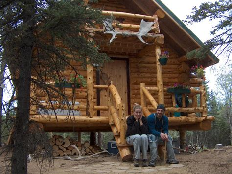 build the cabin of your dreams with these free plans alaskan log cabin