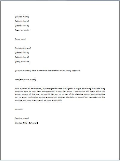 sle of formal approval letter sle ready to use approval letter template formal word