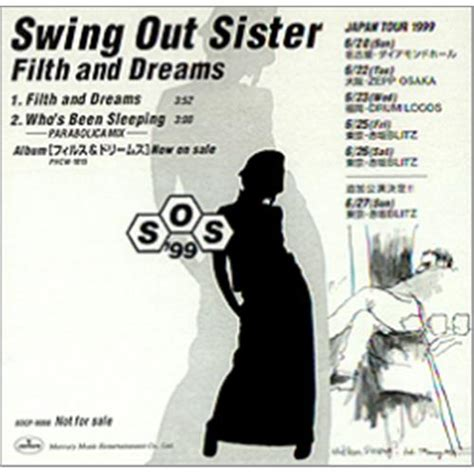 swing out sister 2 swing out sister filth and dreams japanese promo cd single