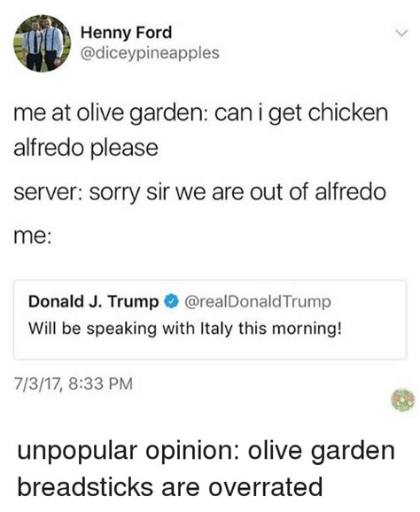25 best memes about olive garden breadsticks olive