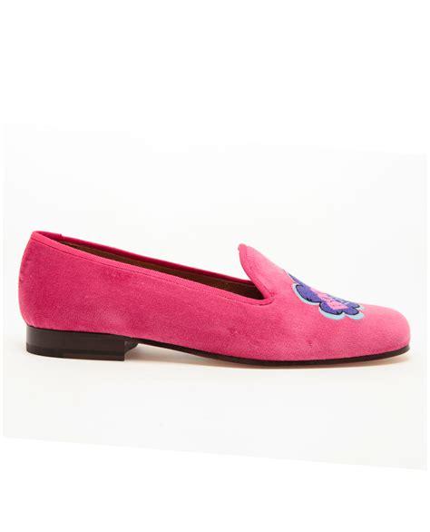 sneakers pink motif stubbs wootton boom pow motif velvet dress slippers in