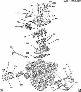 engine asm 3 6l v6 part 6 manifolds related parts