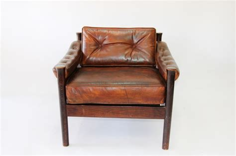 Leather Chair Cushion by Norwegin Leather Club Chair