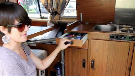 volkswagen bus westfalia kitchen youtube