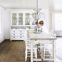 Shabby Chic Kitchen Design by Shabby Chic All White Country Style Say What