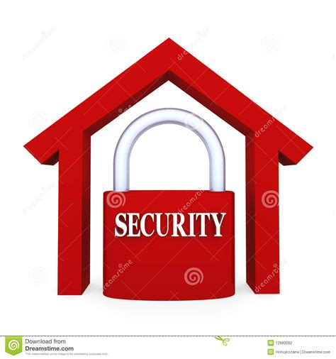 home security stock photography image 12983092
