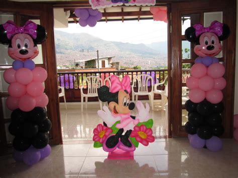 decorar con globos de minnie decoracion globos minnie mouse recreacionistas medellin