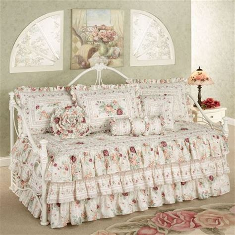 daybed bedding for floral ruffled daybed bedding set