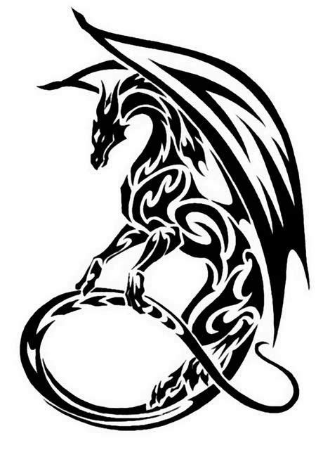 free dragon tattoo designs to print stencils crafts