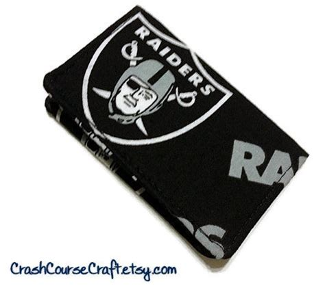 My Gift Card Site Register Mastercard - oakland raiders wallet nfl business card by crashcoursecraft