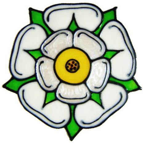 Glass Wall Stickers handmade peelable decoration yorkshire rose