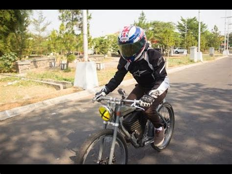 As Tracker Sepeda vintage electric e tracker sepeda listrik test ride indonesia
