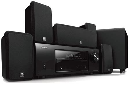 denon dht ba home theater system product shot