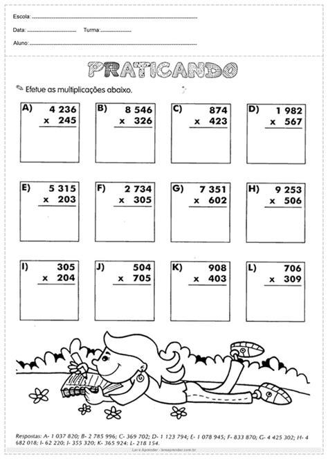+100 Atividades de Matemática - Para Imprimir - Ler e Aprender