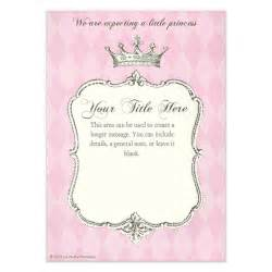 Royal Invitation Template by Royal Shower Princess Invitations Cards On Pingg