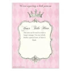 Princess Invitation Template by Royal Shower Princess Invitations Cards On Pingg