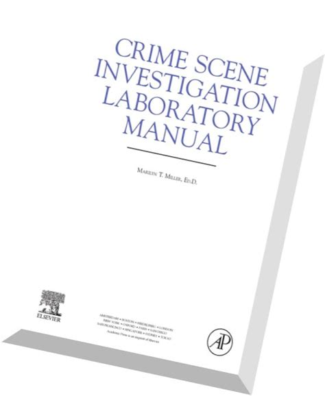 crime investigation laboratory manual pdf