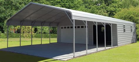 Prefab Metal Garage Kits by Steel Buildings Metal Garages Building Kits Prefab Prices