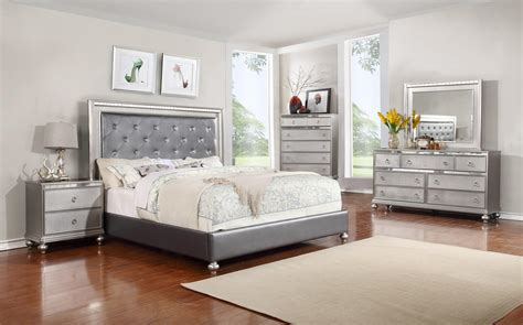 glam bedroom glam 5pc bedroom set rotmans bedroom