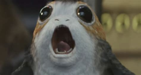 wars the last jedi chewie and the porgs books porgs sing the wars theme sci fi design