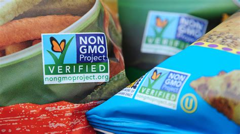 genetically modified foods label how your food gets the non gmo label the salt npr