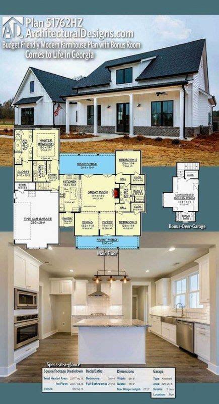 ideas house plans small farmhouse open floor modern