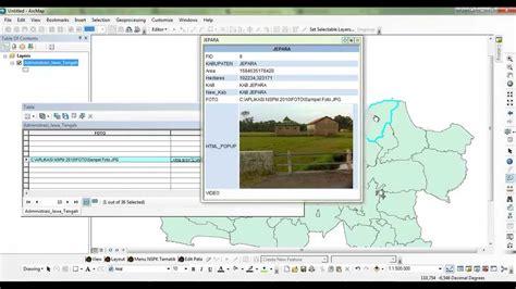arcgis web tutorial tutorial menambahkan foto pada html popup arcgis youtube