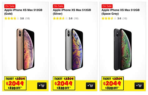 jb hi fi 512gb iphone xs and iphone xs max sale mac prices australia