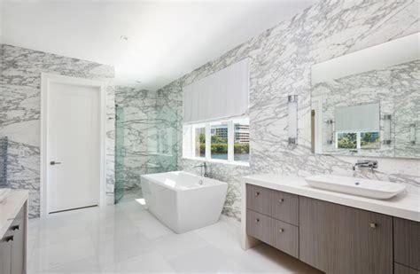 Statuario Marble Bathroom by Statuario Venato Marble Master Bathroom