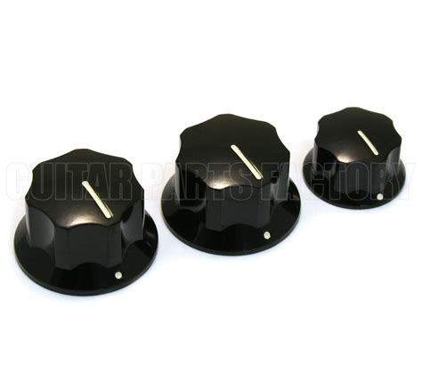 guitar parts factory jazz bass knobs