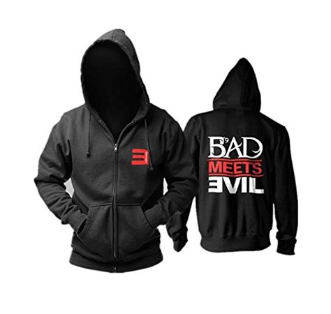 Hoodie Bad Meets Evil Eminem 2 Hitamsweater top best 5 cheap eminem hoodie for sale 2016 review product boomsbeat