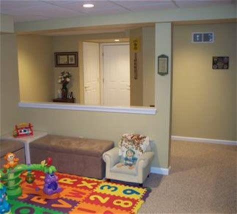 keeping room definition half wall in basement define space keep it open get in my house now plays