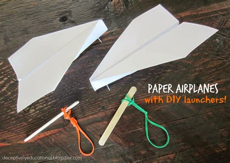 How To Make A Jet Out Of Paper - how to make a paper airplane and a launcher psych